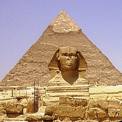 Cheops pyramid, Egypt  -  1999